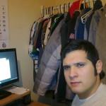 Mi primer oficina, improvisada