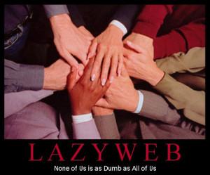 lazyweb