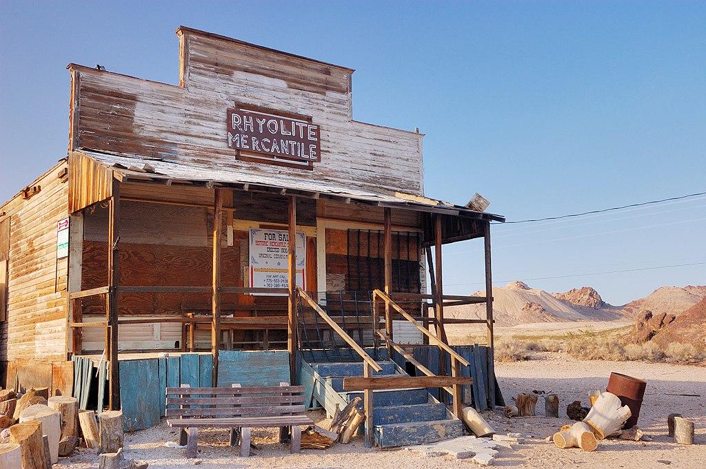 Tienda de abarrotes abandonada
