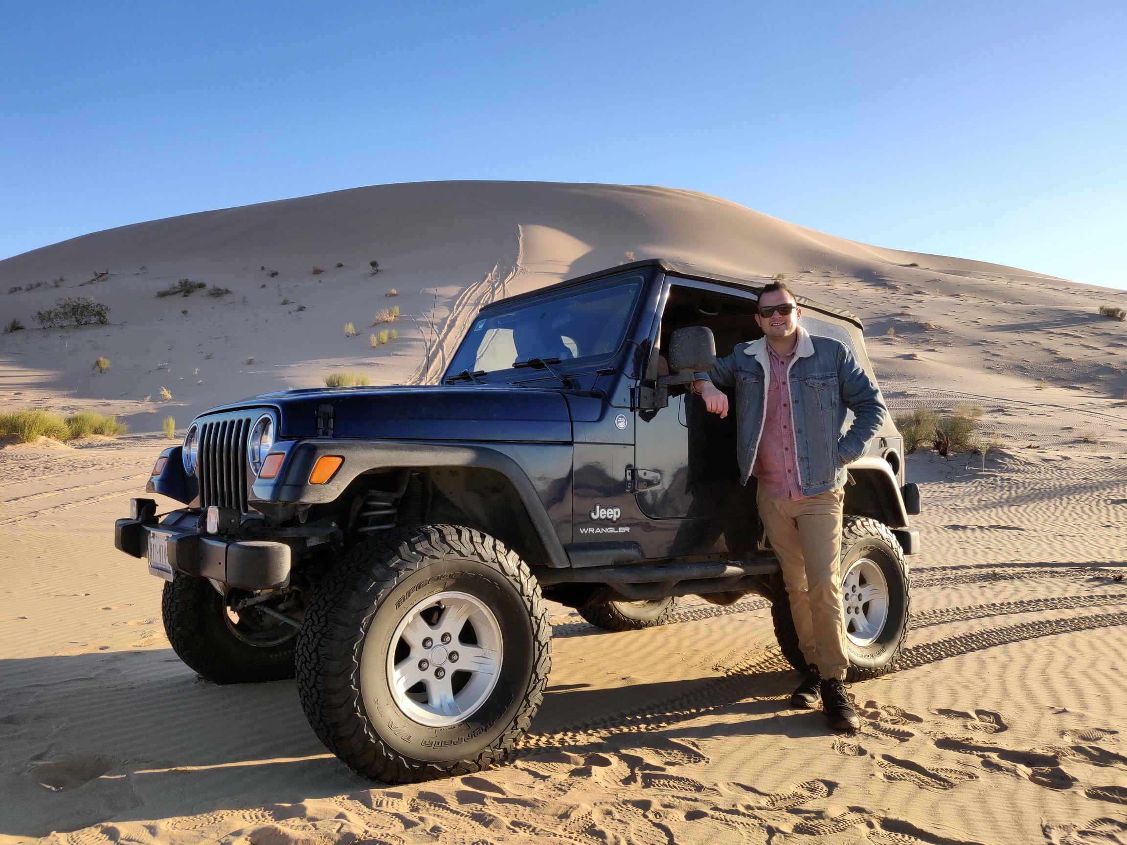 Off-road en el desierto de Altar