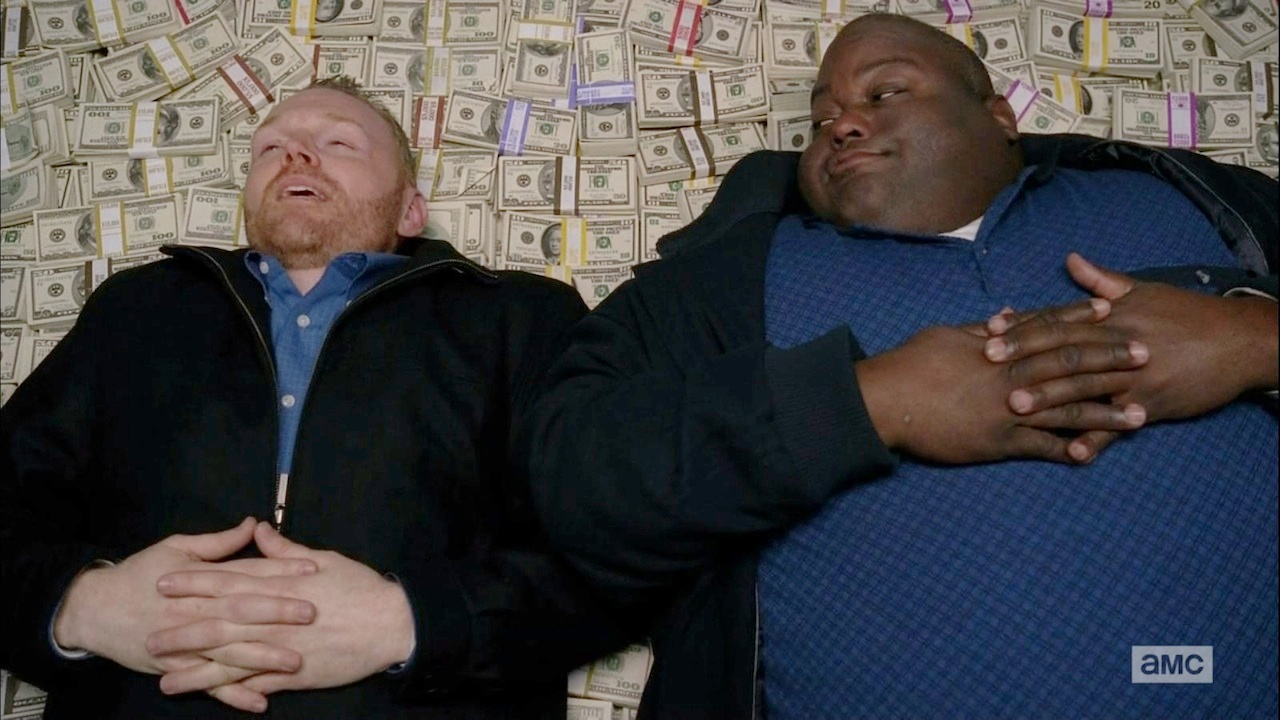 Breaking Bad Money Pile Scene