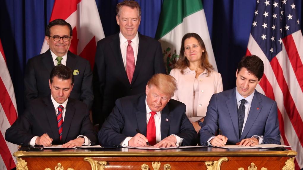 USMCA-signing